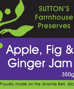 Apple Fig Ginger Jam
