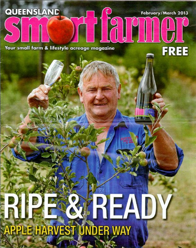 Farmer Dave on the Smart Farmer front cover