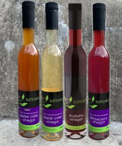 4 mixed vinegars